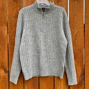 Brooks Brothers Ribbed Wool Pullover